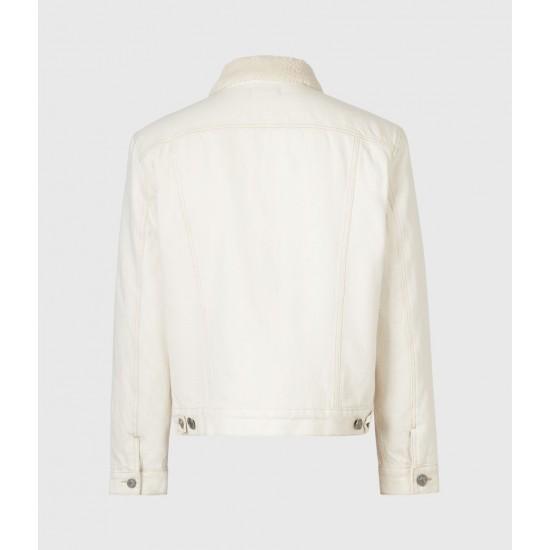 Allsaints En Solde Elgin Denim Jacket