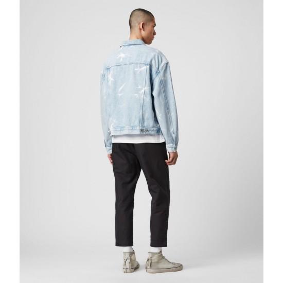 Allsaints En Solde Denby Denim Jacket