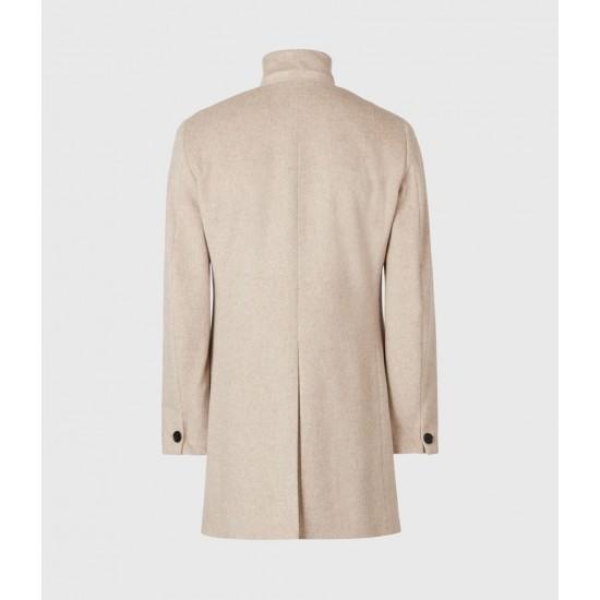 Allsaints En Solde Manor Wool Coat