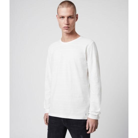 Allsaints En Solde T-Shirt à Manches Longues Aldwin