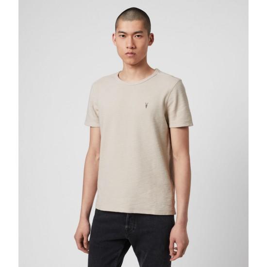 Allsaints En Solde T-Shirt à en Coton Gaufré Muse