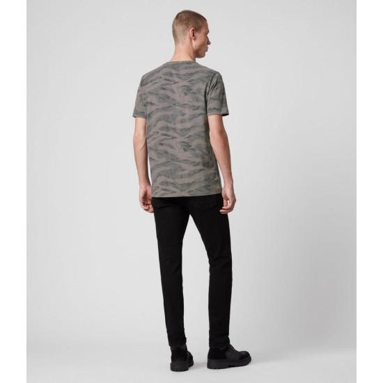 Allsaints En Solde T-Shirt Brace Camo