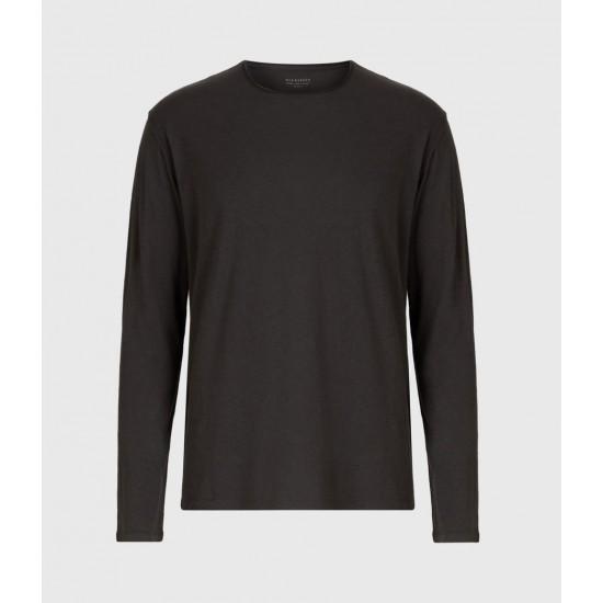 Allsaints En Solde Figure Long Sleeve Crew T-Shirt
