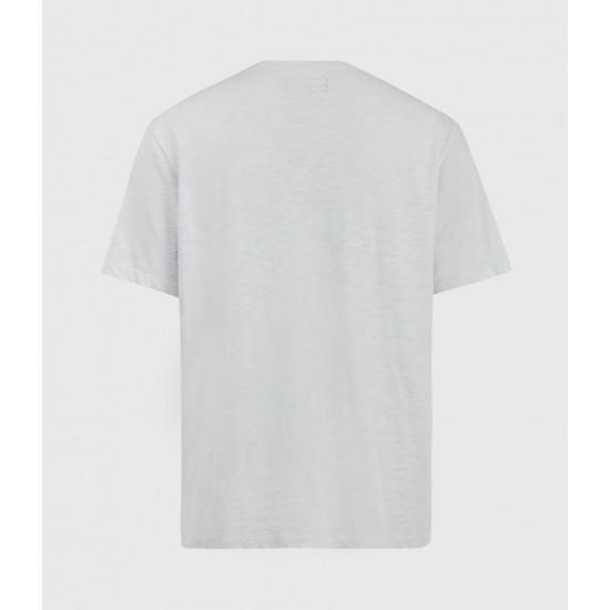 Allsaints En Solde T-Shirt Dévoré Blaze