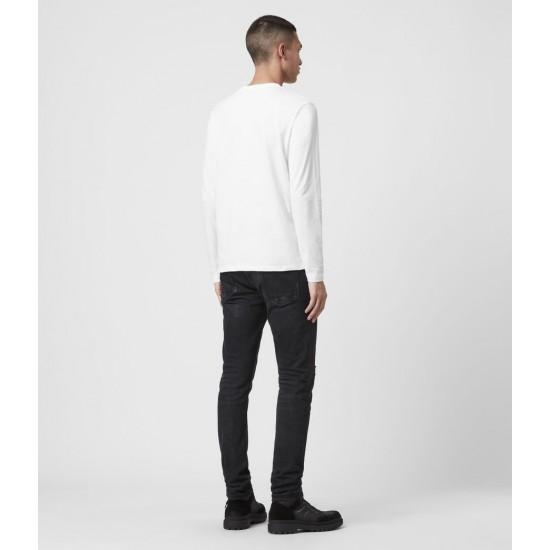 Allsaints En Solde T-Shirt Manches Longues Brace Tonic