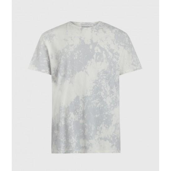 Allsaints En Solde T-Shirt Délavé à Manches Courtes Zing