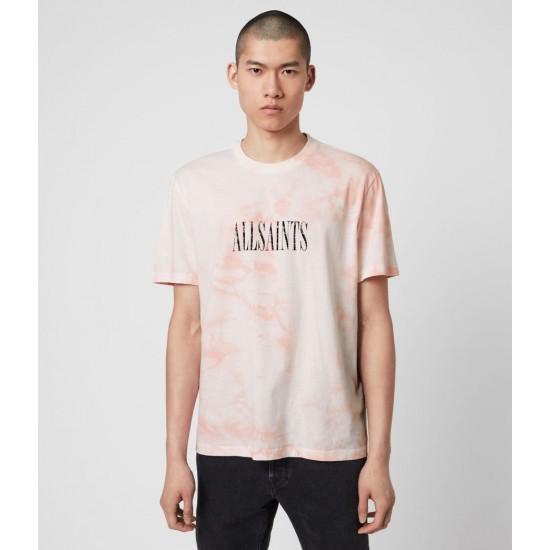 Allsaints En Solde T-Shirt Tie-and-Dye Stamp