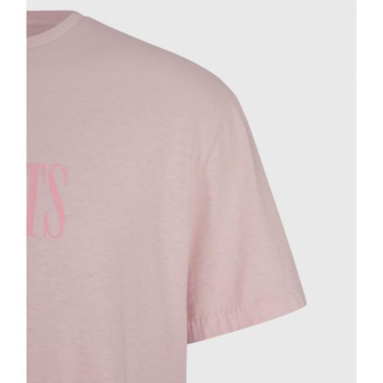 Allsaints En Solde T-Shirt Tonal Stamp