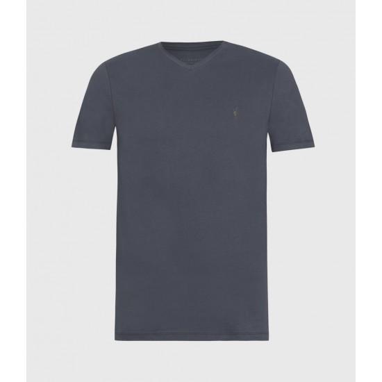 Allsaints En Solde T-Shirt Col V Brace