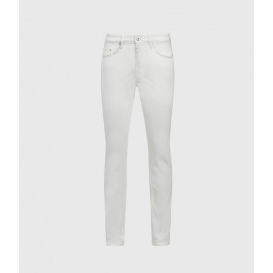 Allsaints En Solde Jean Skinny Rex, Blanc