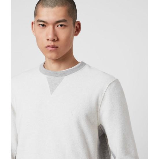 Allsaints En Solde Reverser Crew Sweatshirt