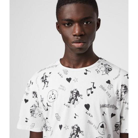 Allsaints En Solde T-Shirt à Manches Courtes Tres Chordos