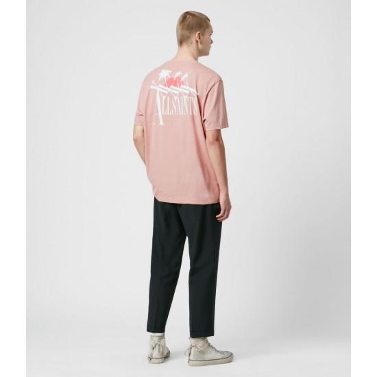 Allsaints En Solde T-Shirt à Manches Courtes Tre Palmas