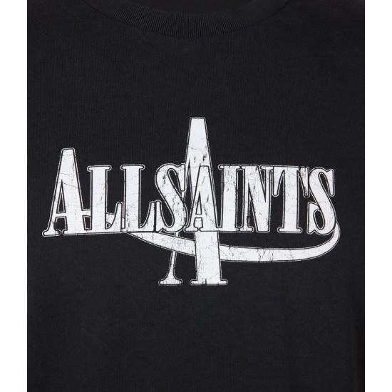 Allsaints En Solde Moto Crew T-Shirt