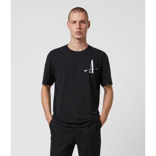 Allsaints En Solde Target Crew T-Shirt