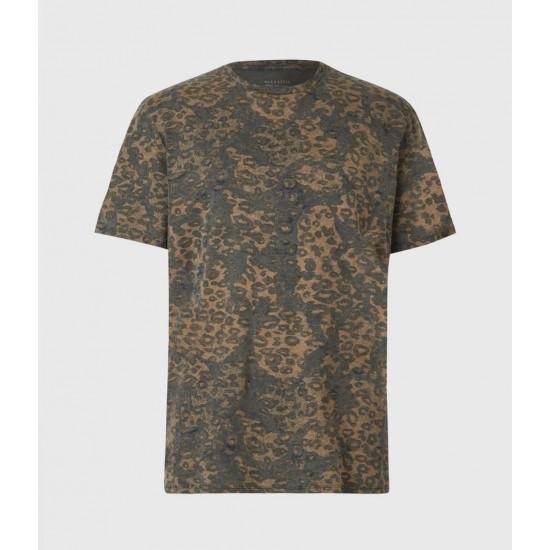 Allsaints En Solde T-Shirt Khaki