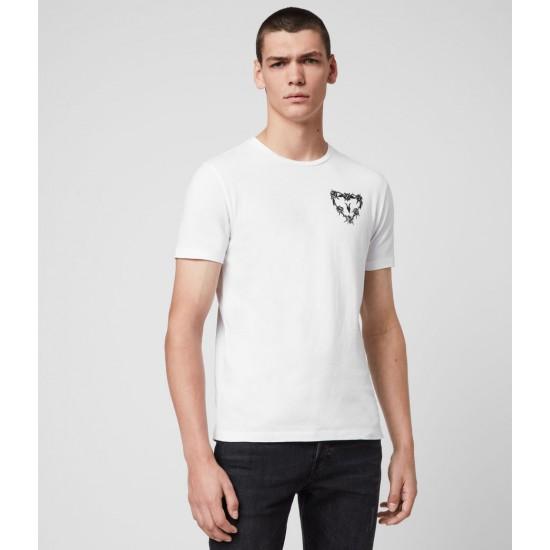 Allsaints En Solde Heart String Crew T-Shirt