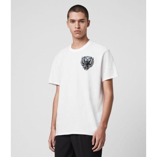 Allsaints En Solde T-Shirt Twin Tiger