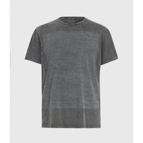 Allsaints En Solde Acidic Cadfer Crew T-Shirt