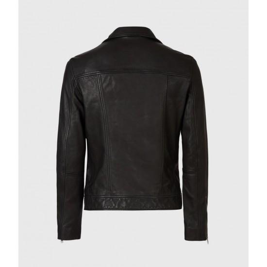 Allsaints En Solde Tyson Leather Biker Jacket