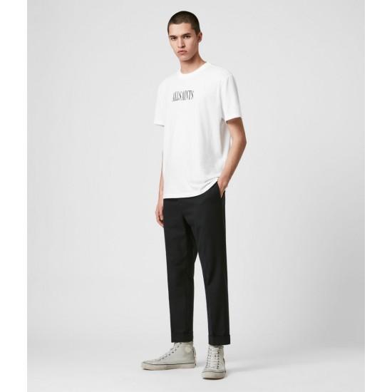 Allsaints En Solde Gibbs Cropped Slim Trousers