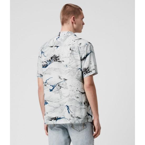 Allsaints En Solde Flood Shirt
