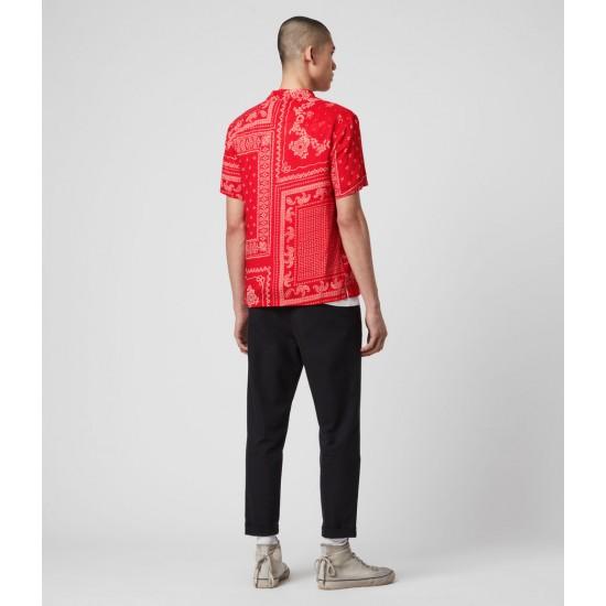 Allsaints En Solde Cherito Short Sleeve Shirt