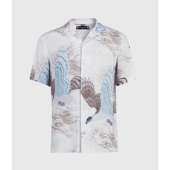 Allsaints En Solde Rapax Shirt