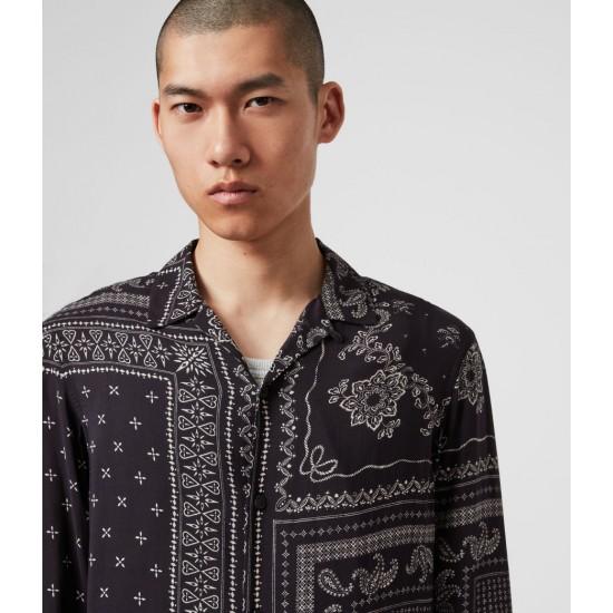 Allsaints En Solde Cherito Long Sleeve Shirt