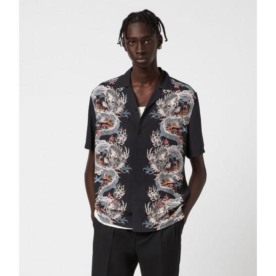 Allsaints En Solde Dragonstone Shirt