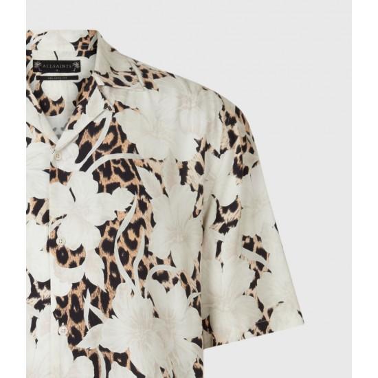 Allsaints En Solde Leopon Shirt