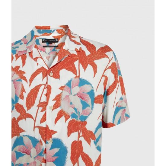 Allsaints En Solde Chemise Hawaïenne Vine