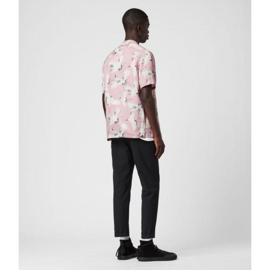 Allsaints En Solde Tsuru Shirt