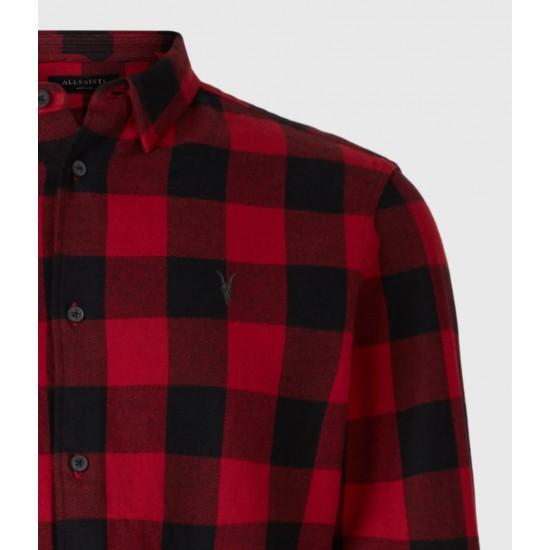 Allsaints En Solde Lumber Shirt
