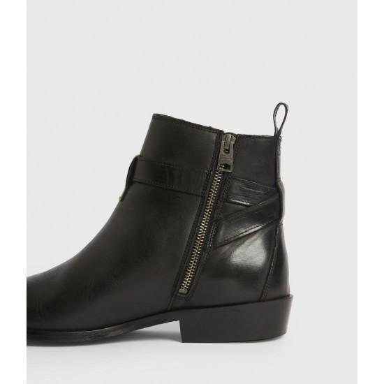 Allsaints En Solde Rodeo Leather Boots