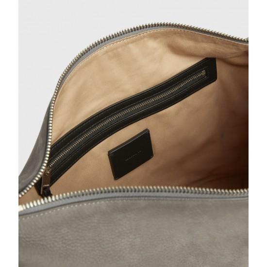 Allsaints En Solde Edbury Nubuck Shoulder Bag