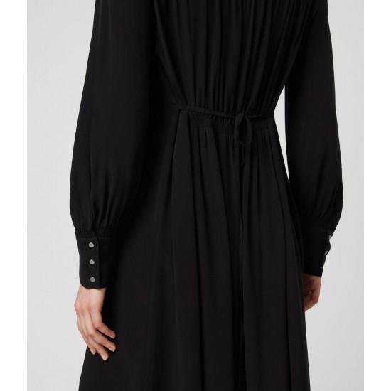 Allsaints En Solde Robe Asymétrique Fayre