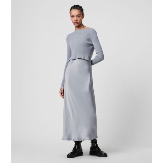 Allsaints En Solde Robe 2-en-1 Hera