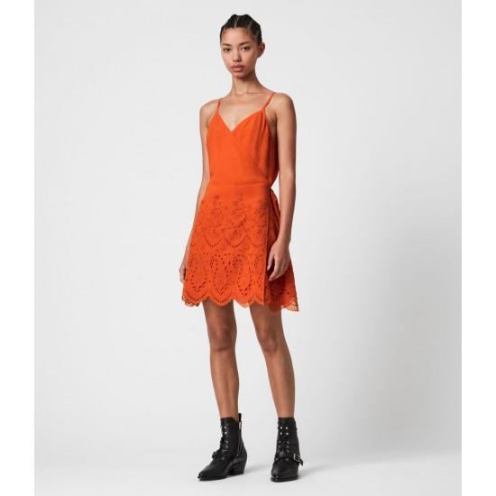 Allsaints En Solde Zariah Sleeveless Dress
