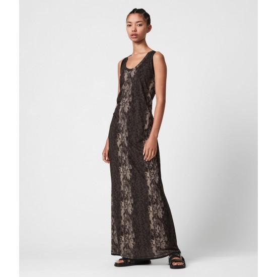 Allsaints En Solde Ami Masala Maxi Dress
