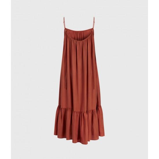 Allsaints En Solde Paola Silk Dress