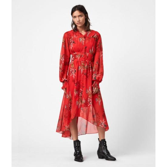 Allsaints En Solde Leonie Melisma Dress