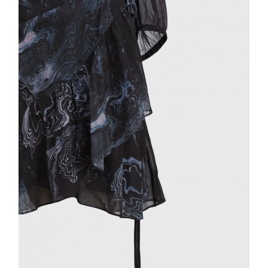 Allsaints En Solde Robe Jade Hatsukoi