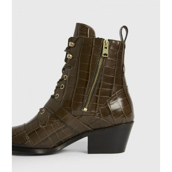 Allsaints En Solde Katy Leather Boots