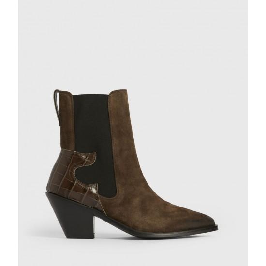 Allsaints En Solde Sara Suede Boots