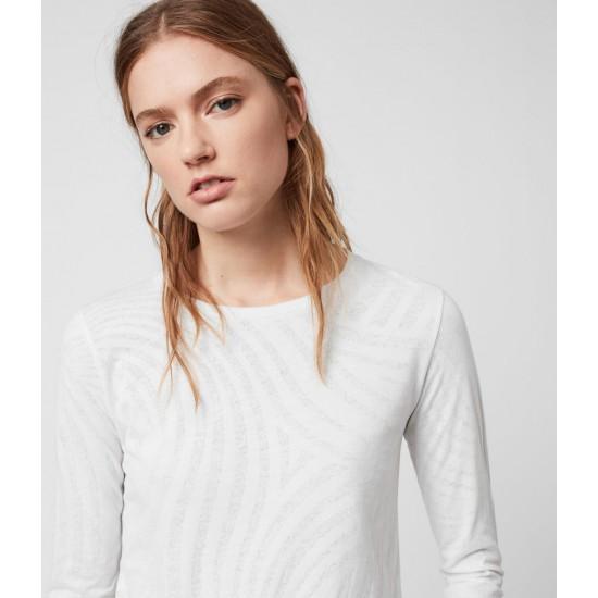 Allsaints En Solde T-Shirt Manches Longues Zake Esme