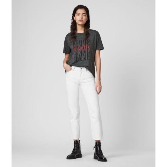 Allsaints En Solde T-Shirt Femme Dima
