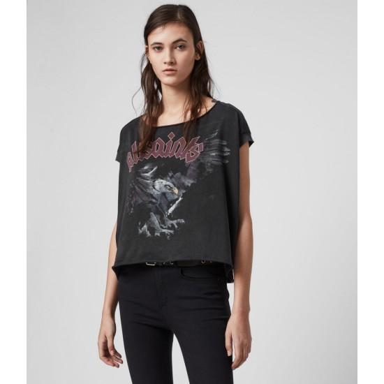 Allsaints En Solde T-Shirt Eagle Pina
