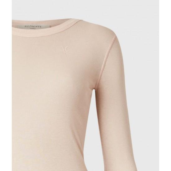 Allsaints En Solde T-Shirt à Manches Longues Francesco Ramskull
