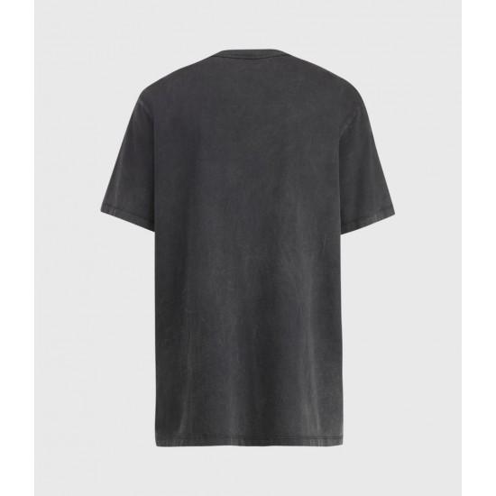 Allsaints En Solde T-Shirt Reptose Boyfriend